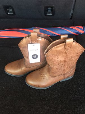 Girls cowboy boots shoes size 11 toddler size for Sale in Parker, CO