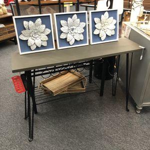 """Brand New Sofa Table (Dimensions: 47""""x13""""x31.5"""") 🙏 Please Read Description 👀 for Sale in North Las Vegas, NV"""