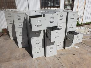 used FILE CABINETS FOR SALE!!!....Each for Sale in Houston, TX