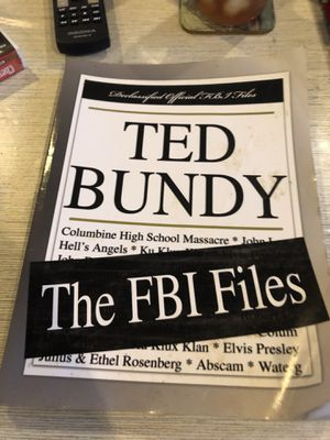 Paperback Copies all FBI files and Deleted files on Bundy for Sale in Meridian, MS
