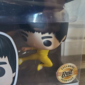 Funko Pop! Movies #592 Bruce Lee Exclusive Bait Vinyl Figure Game Of Death Flying Kick $40 OBO for Sale in Phoenix, AZ