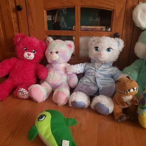 3 Build A Bear And 7 Extras ( Sold As Lot ) for Sale in Browns Mills, NJ