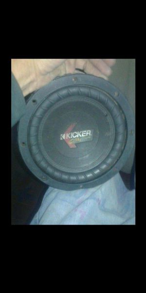 "8"" Kicker CompVR Subwoofer for Sale in Fresno, CA"