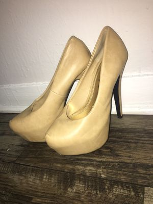 Tan heels for Sale in Orlando, FL