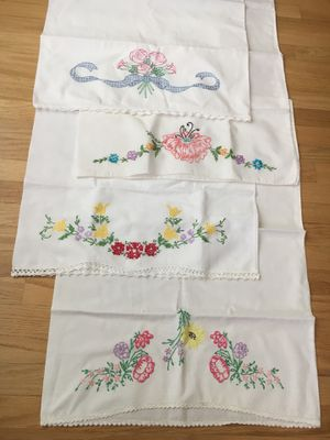 Embroidered Pillowcases for Sale in Riverside, CA