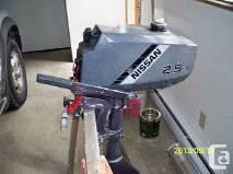 Nissan 2.5hp outboard for Sale in Fort Lauderdale, FL