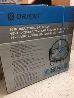 ORIENT 30 inches drum fan for Sale in Arlington, VA