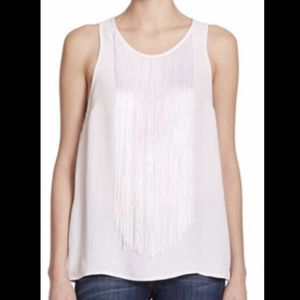 Karina Grimaldi fringed tank top XS for Sale in Boston, MA