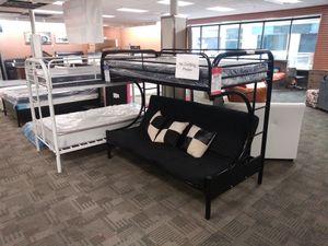 Black futon bunk bed for Sale in Phoenix, AZ