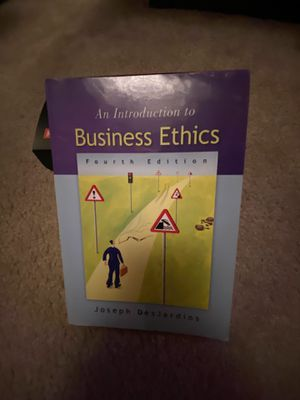 An introduction to business ethics fourth edition for Sale in Sunnyvale, CA