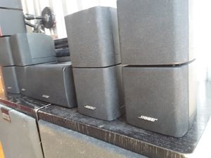 BOSE SURROUND SOUND CUBE SPEAKERS for Sale in Aurora, CO