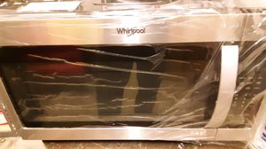 Whirlpool over the range microwave for Sale in Annandale, VA