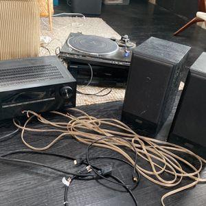 Receivers Speakers Turntable for Sale in Los Angeles, CA