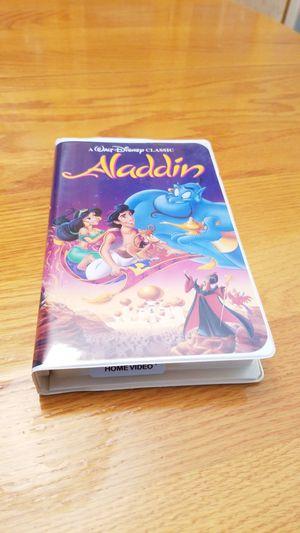 Aladdin VHS tape for Sale in Washington, PA