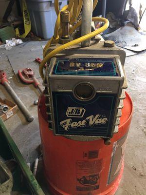 J/B Industries refrigeration vacuum pump for Sale in Oakdale, CA