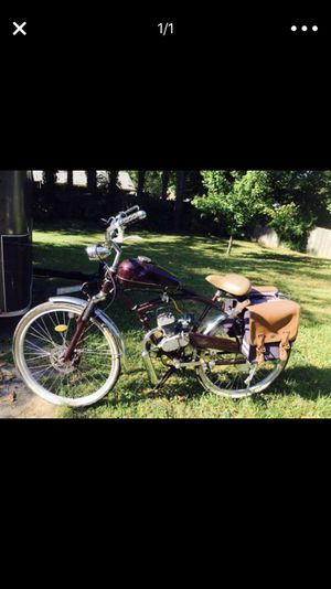 Whizzer moto project bike + extra parts for Sale in Nashville, TN