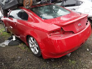 Parting out 2005 Infiniti G35 Coupe for Sale in San Francisco, CA