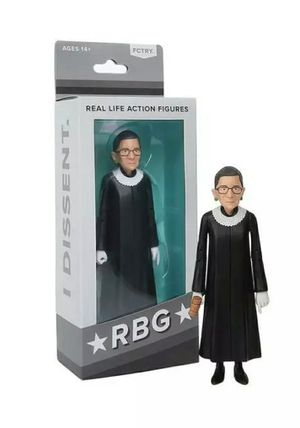 Collectible Justice Ruth Bader Ginsburg RBG Real Life Action Figure Doll NEW BOX for Sale in San Gabriel, CA