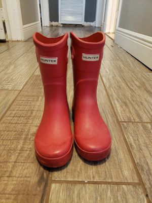 Hunter for Target rain boots for Sale in Tampa, FL