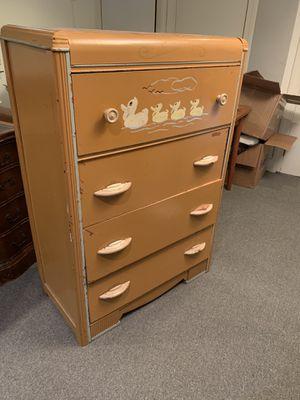 ANTIQUE - solid wood dresser for Sale in Washington, DC