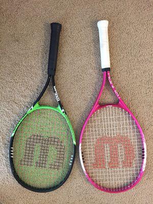 Tennis racket 2 for $20 obo for Sale in Fullerton, CA