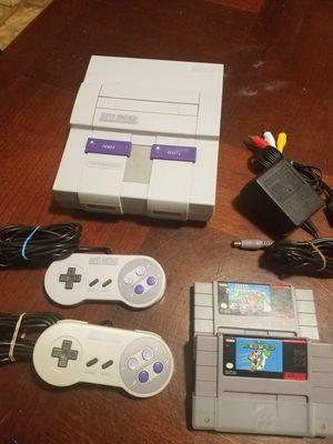 Super Nintendo SNES Super Mario for Sale in Concord, MA