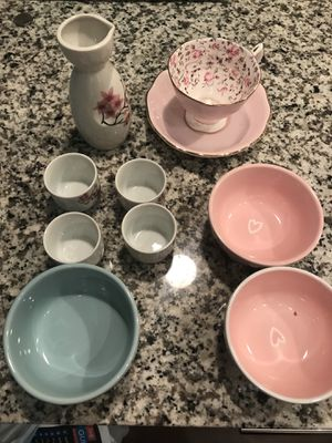 Tea set & Japanese Sake Set for Sale in McLean, VA