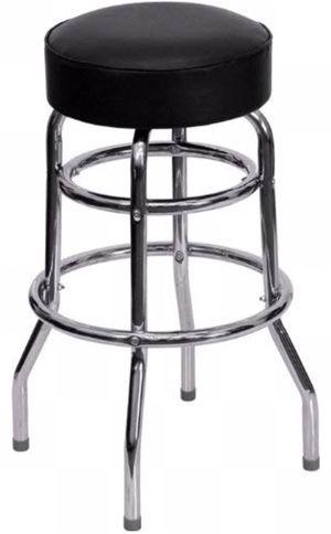 4 doble ring chrome bar stool for Sale in Austin, TX