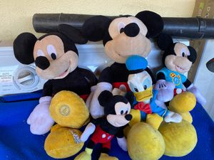 Mickey Mouse plushy's for Sale in Los Angeles, CA