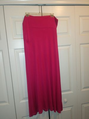 Hot Pink Flowy Maxi Skirt for Sale in Wesley Chapel, FL