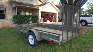 5x10 utility trailer with tailgate in excellent condition. for Sale in Round Rock, TX