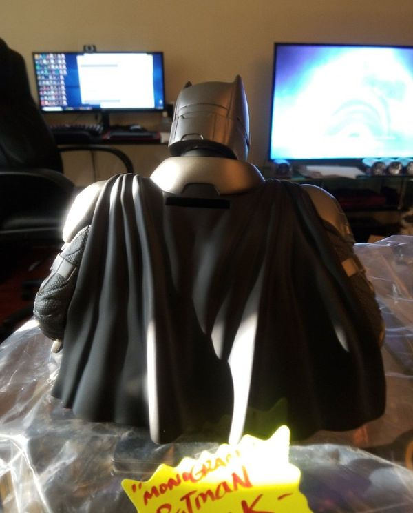 Monogram DC BATMAN Bust Bank