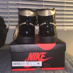 Air Jordan 1 Retro OG High Black & Gold Men's Size 10 for Sale in Huntington Beach, CA