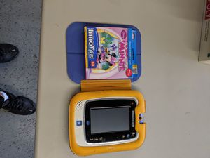 VTech tablet for kids with Minnie mouse game $20 for Sale in Joliet, IL