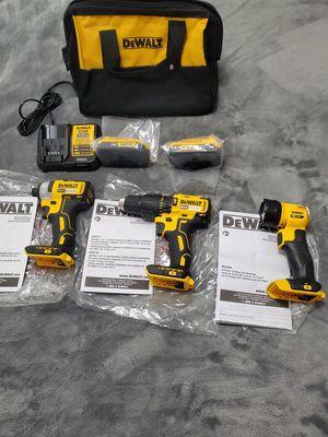 Dewalt 20v MAX Brushless 3- tool combo kit for Sale in Riverview, FL