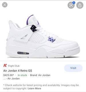 Jordan 4 Retro for Sale in Long Beach, CA