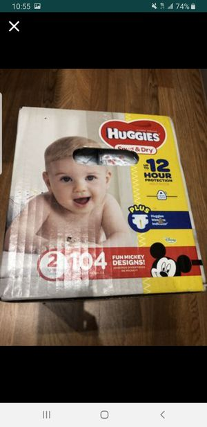 Diapers size 2 for Sale in Miami, FL