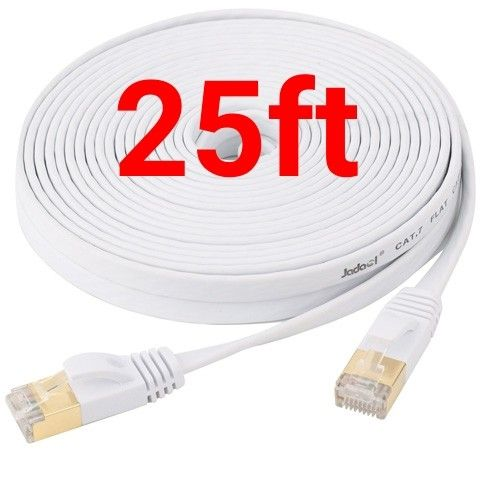 25ft Cat7 Ethernet Network Cable