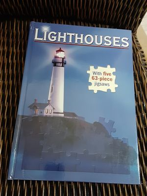 Lighthouses puzzle book for Sale in Sacramento, CA