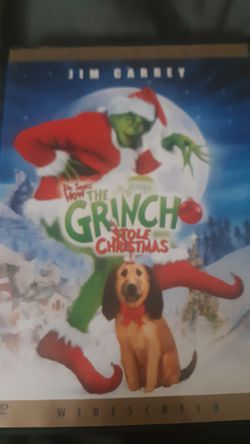 Collector's Edition DVD- Dr. Seuss How The Grinch Stole Christmas Widescreen for Sale in Twin Bridges,  CA