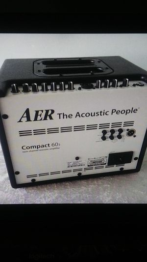 AER Compact 60/3 twin Channel acoustic guitar amplifier amp with gig bag for Sale in San Diego, CA