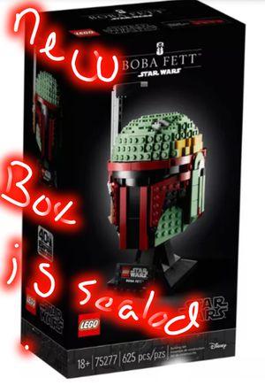 LEGO Star Wars Boba Fett Helmet Building Kit; Cool Collectible Star Wars Set 75277 for Sale in Phoenix, AZ