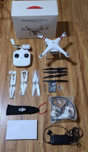 Dji phantom 2 vision, used with box and lots of parts (no batteries) for Sale in Coral Springs, FL