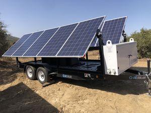 Dc solar trailer for Sale in Temecula, CA