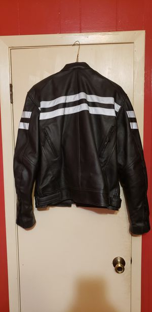 Leather Motorcycle Jacket for Sale in Cuero, TX