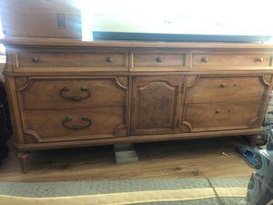 Beautiful solid wood dresser for Sale in San Diego, CA