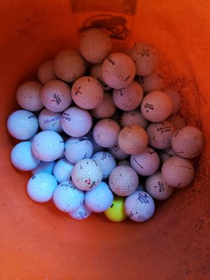 120 miscellaneous golf balls for Sale in West Dundee, IL
