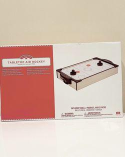 "BIGTREE 20"" Air Hockey Tabletop Family Fun Home Arcade Game Striker Pucks Full Airflow for Sale in Arlington,  VA"