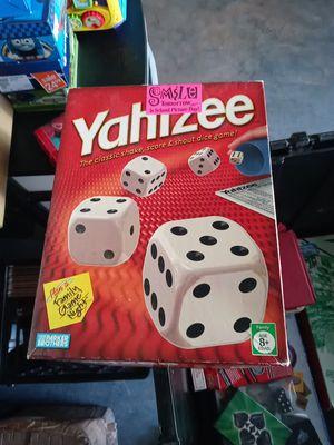 Yahtzee board game for Sale in Stone Mountain, GA