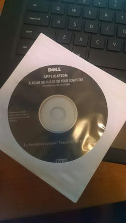 DELL CyberLink PowerDVD Install CD for Sale in Vancouver,  WA